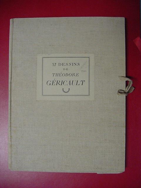 Livre th odore g ricault cinquante sept aquarelles for Chambre cinquante sept