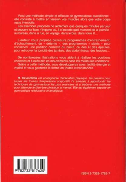 Livre gymnastique facile pour tous les jours roberta - Livre de cuisine facile pour tous les jours ...