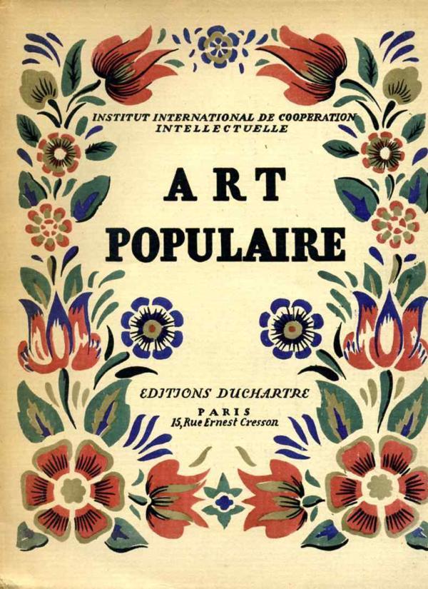 Livre art populaire travaux artistiques et for Arts populaires
