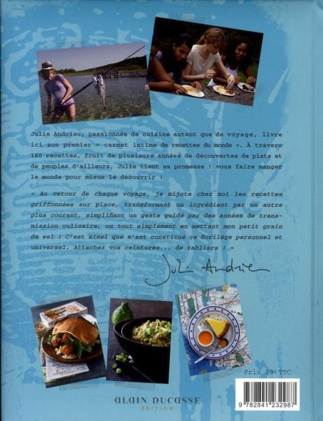 Livre julie cuisine le monde chez vous julie - Julie cuisine le monde ...