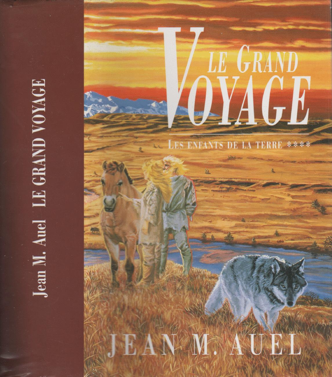 livre le grand voyage jean m auel acheter occasion 1992. Black Bedroom Furniture Sets. Home Design Ideas