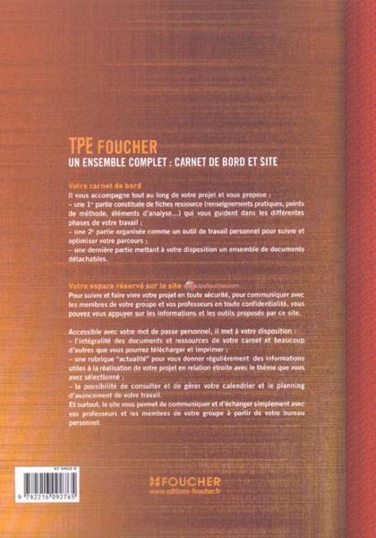 Turbo Livre - Carnet De Bord Tpe - Isabelle Mimouni YQ02
