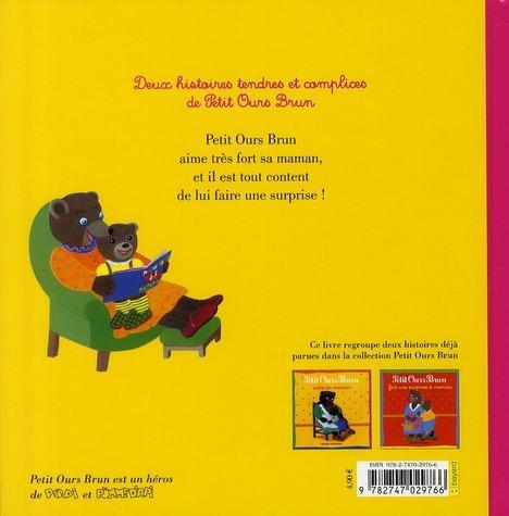 Livre petit ours brun et sa maman 2 histoires du soir - Petit ours brun et sa maman ...