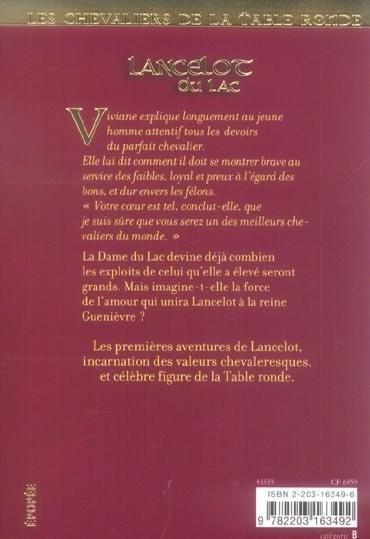 Livre les chevaliers de la table ronde t 2 lancelot du - Lancelot et les chevaliers de la table ronde ...