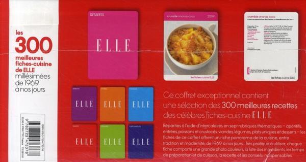 Livre les 300 meilleures fiches cuisine de elle for 100 fiches cuisine de elle