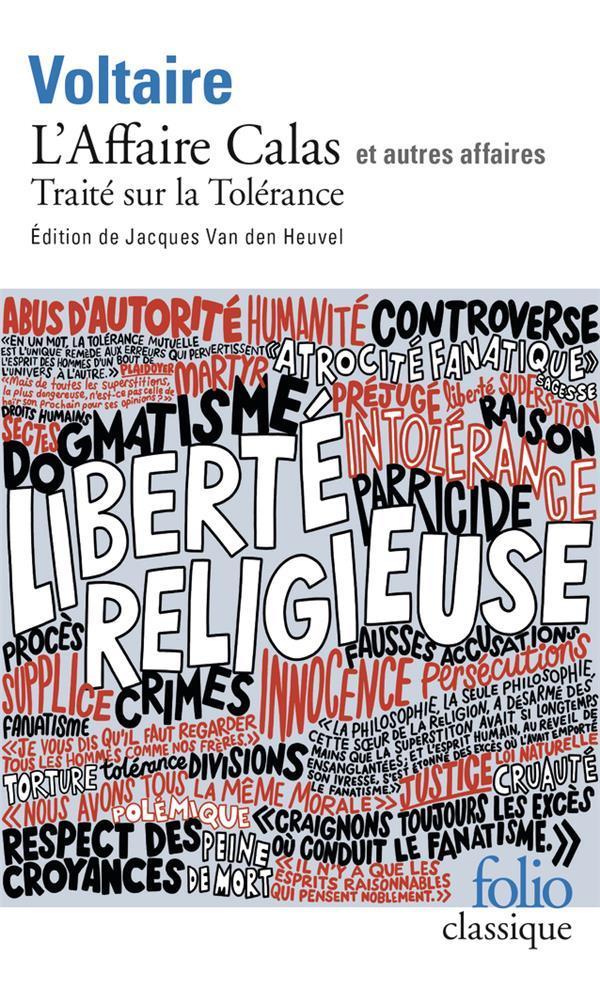 l'affaire calas et voltaire 1ère Français