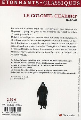 colonel chabert resume