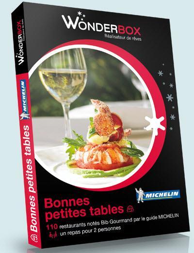 Wonderbox coffret cadeau tables gourmandes michelin - Wonderbox tables gourmandes ...