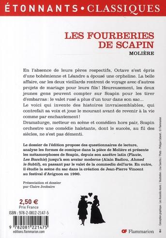 resume de les fourberies de scapin