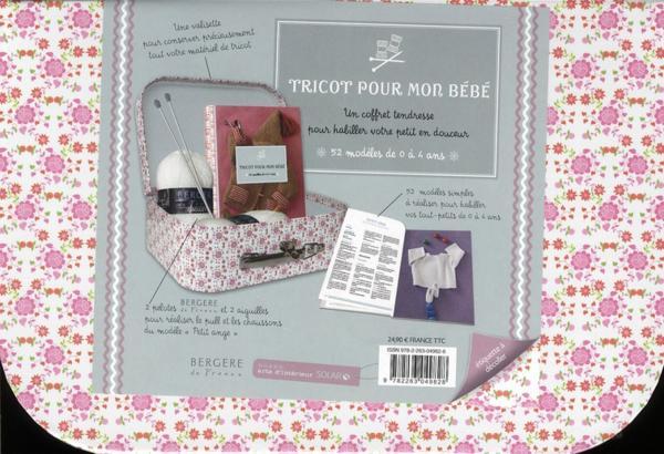 livre tricot pour mon b b berg re de france. Black Bedroom Furniture Sets. Home Design Ideas