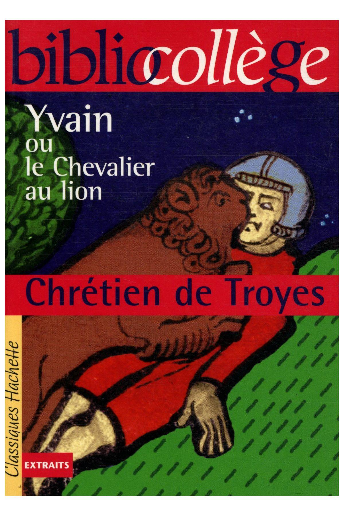 livre yvain ou le chevalier au lion chr tien de troyes. Black Bedroom Furniture Sets. Home Design Ideas