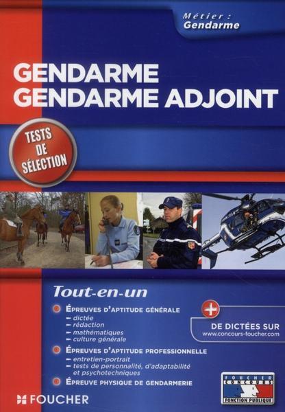 livre gendarme gendarme adjoint tests d 39 admission dition 2010 berthou olivier. Black Bedroom Furniture Sets. Home Design Ideas