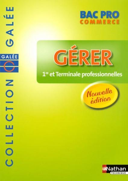 Livre g rer bac pro commerce 1 re et terminale - Bac pro decorateur interieur ...