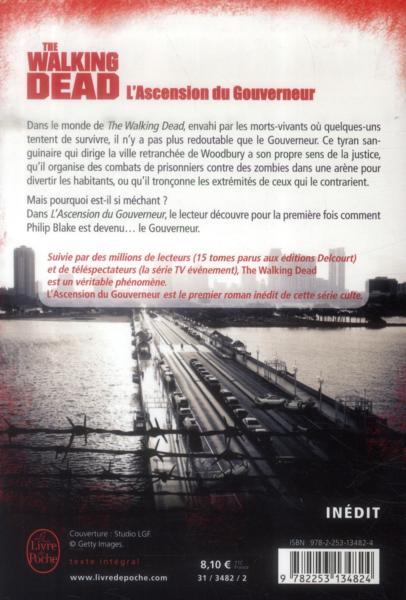 Livre the walking dead t 1 l 39 ascension du gouverneur - Livre de poche walking dead ...