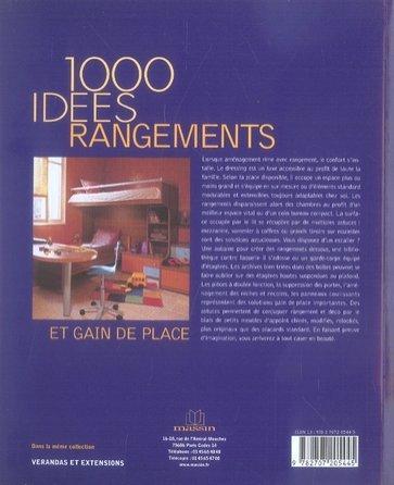 livre 1000 idees rangements. Black Bedroom Furniture Sets. Home Design Ideas