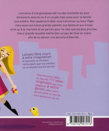 livre 111 sc narios pour annoncer une grossesse rougeron celine acheter occasion 26 01 2009. Black Bedroom Furniture Sets. Home Design Ideas