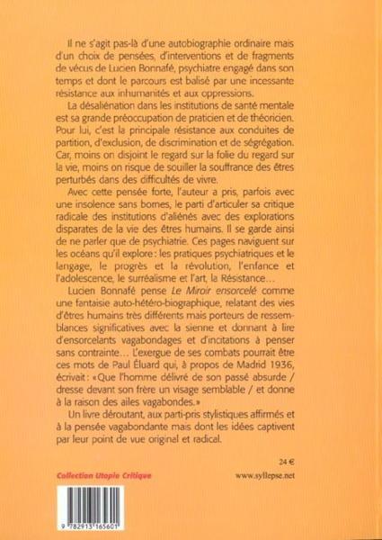 Livre miroir ensorcele lucien bonnaf for Miroir psychanalyse