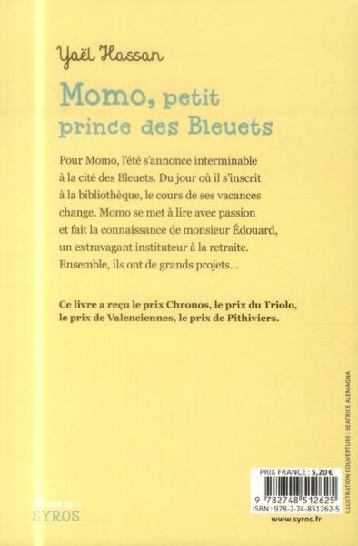 resume du livre momo petit prince des bleuets
