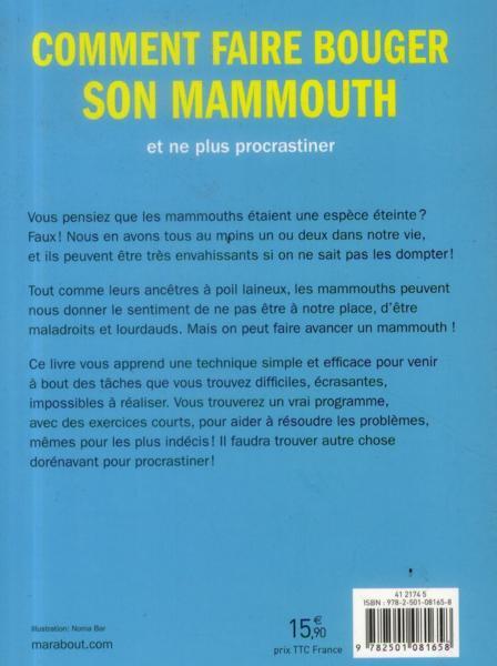 Livre comment faire bouger son mammouth et enfin - Comment faire craquer son voisin ...