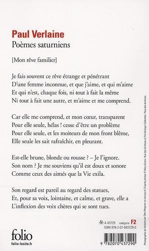 Poeme saturniens resume