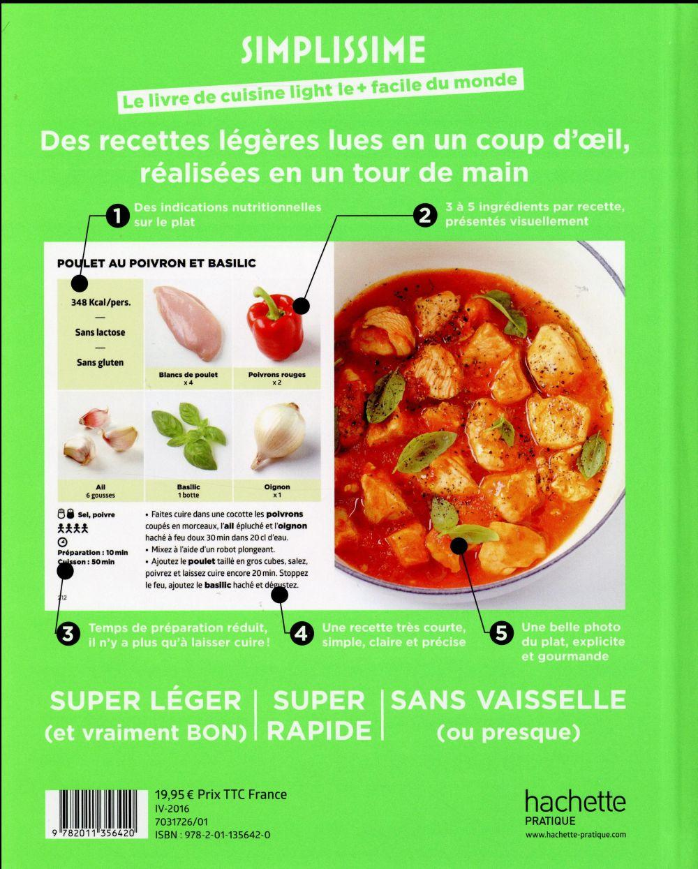 Livre simplissime light le livre de cuisine light le for La cuisine simplissime light