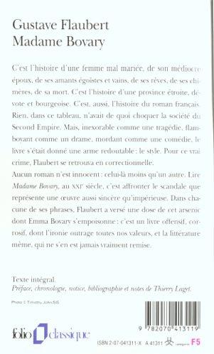 livre madame bovary gustave flaubert
