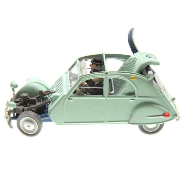voiture miniature tintin les bijoux de la castafiore citro n 2cv belge 1954. Black Bedroom Furniture Sets. Home Design Ideas