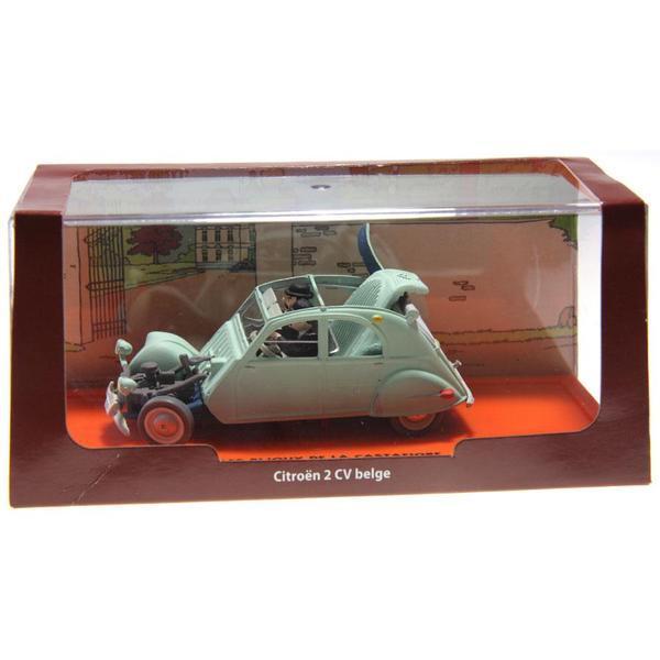 voiture miniature tintin