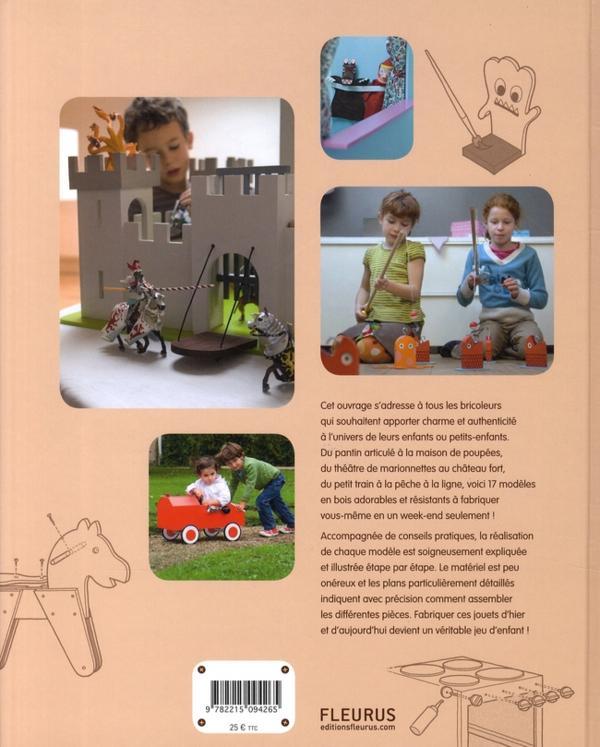livre jouets en bois 17 mod les faire soi m me denis cauquetoux. Black Bedroom Furniture Sets. Home Design Ideas