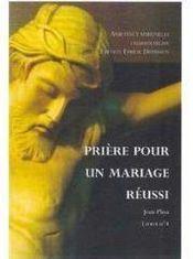 Prière pour un mariage réussi