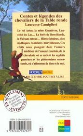 Contes Et Legendes Des Chevaliers De La Table Ronde Laurence Camiglieri