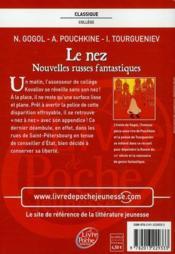 Le Nez de Gogol 4ème Français