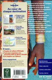 Ethiopie et Djibouti (édition 2018) - 4ème de couverture - Format classique