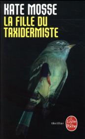 La fille du taxidermiste - Couverture - Format classique