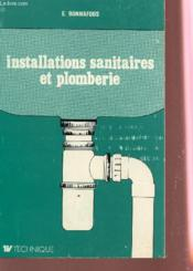 Installations Sanitaires Et Plomberie.