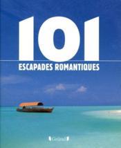 101 escapades romantiques - Couverture - Format classique