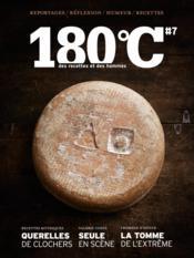 180°C N.7 ; Des Recettes Et Des Hommes - Couverture - Format classique
