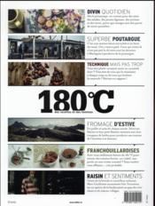 180°C N.7 ; Des Recettes Et Des Hommes - 4ème de couverture - Format classique
