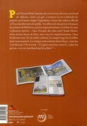 Paul Durand-Ruel ; marchand des impressionnistes - 4ème de couverture - Format classique