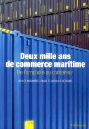 2000 ans de commerce maritime - Couverture - Format classique