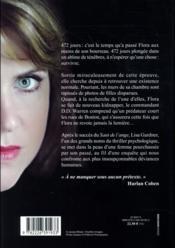 Lumière noire - 4ème de couverture - Format classique