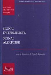 Signal Deterministe, Signal Aleatoire Exercices Et Problemes Corriges