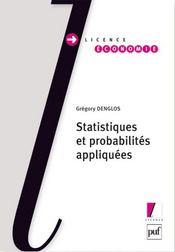 Statistiques et probabilités appliquées
