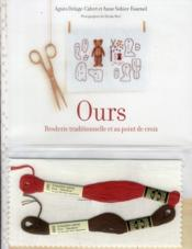 Kit broderie ours - tradition & point croix