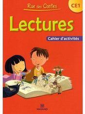 CE1 ; cahier d'éctivités