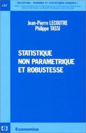 Statistique non parametrique et robustesse