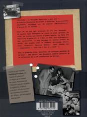 HISTOIRE DE LA CRIM'. 100 ans de crimes, d'enquêtes et d'aveux - 4ème de couverture - Format classique