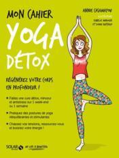 MON CAHIER ; yoga détox - Couverture - Format classique