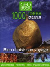 Geobook ; 1000 idées originales - Couverture - Format classique