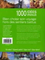 Geobook ; 1000 idées originales - 4ème de couverture - Format classique